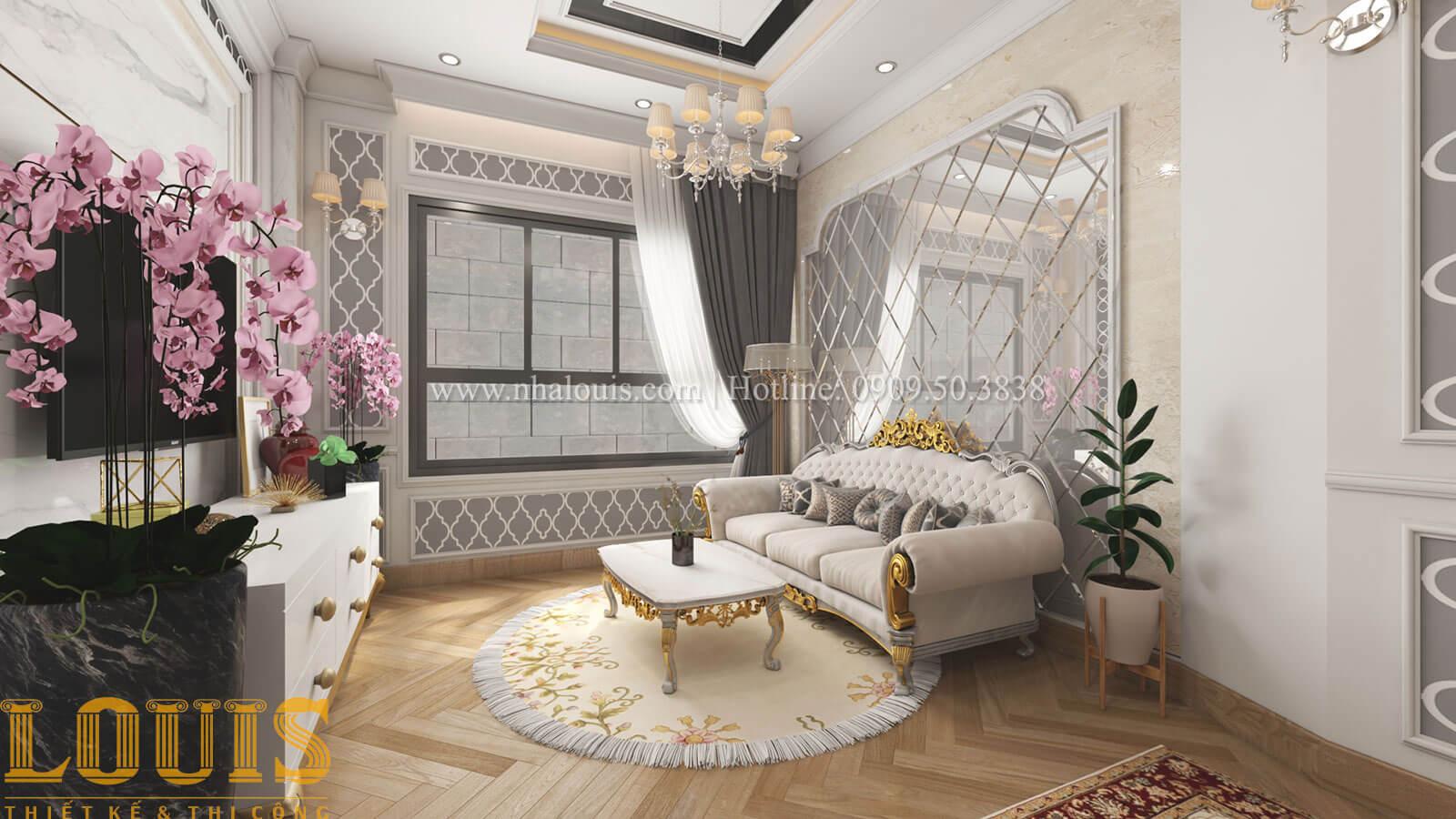 Phòng ngủ master Mẫu nhà 5 tầng đẹp hiện đại với thiết kế tối giản tại Tân Bình - 24