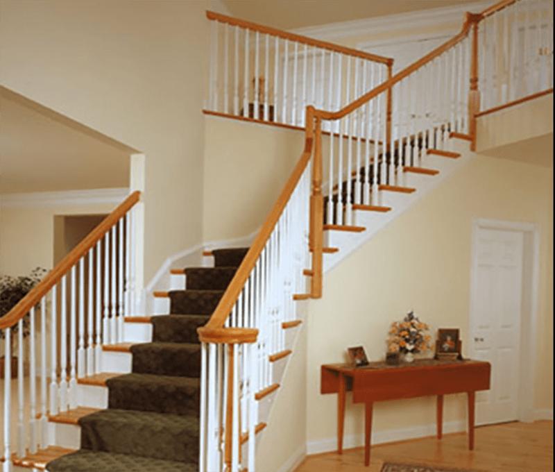 Gợi ý 4 kiểu cầu thang gỗ giúp nhà 3 tầng hiện đại lột xác ấn tượng