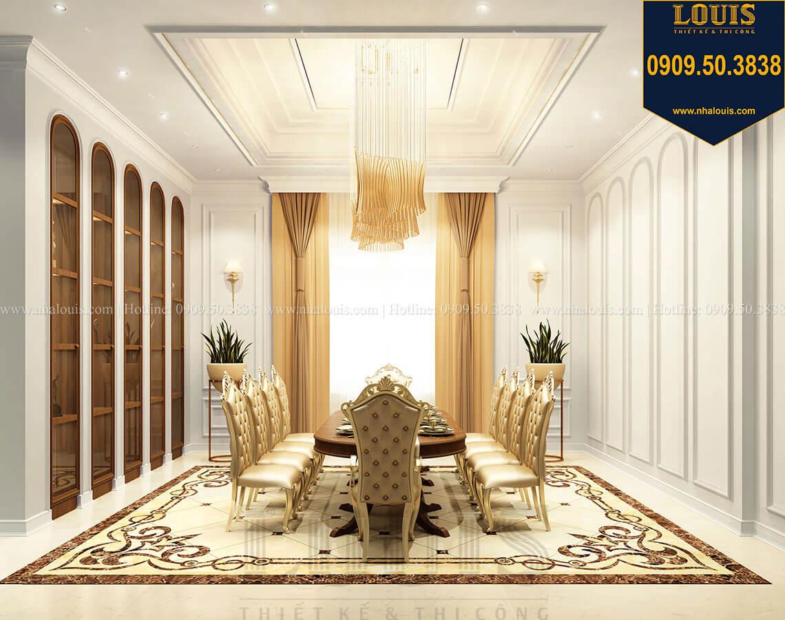 Phòng ăn Thiết kế mẫu biệt thự tân cổ điển 3 tầng đậm chất Tây tại Vũng Tàu - 12