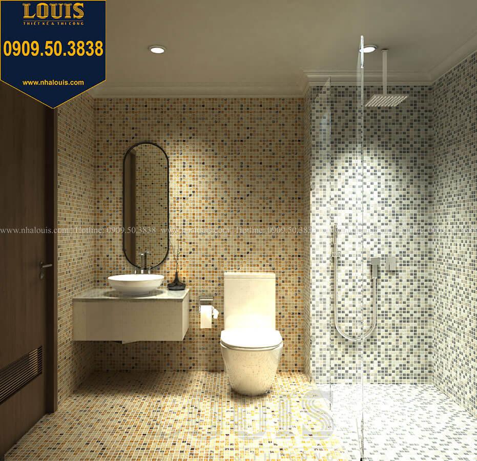Nhà tắm và WC Thiết kế mẫu biệt thự tân cổ điển 3 tầng đậm chất Tây tại Vũng Tàu - 20