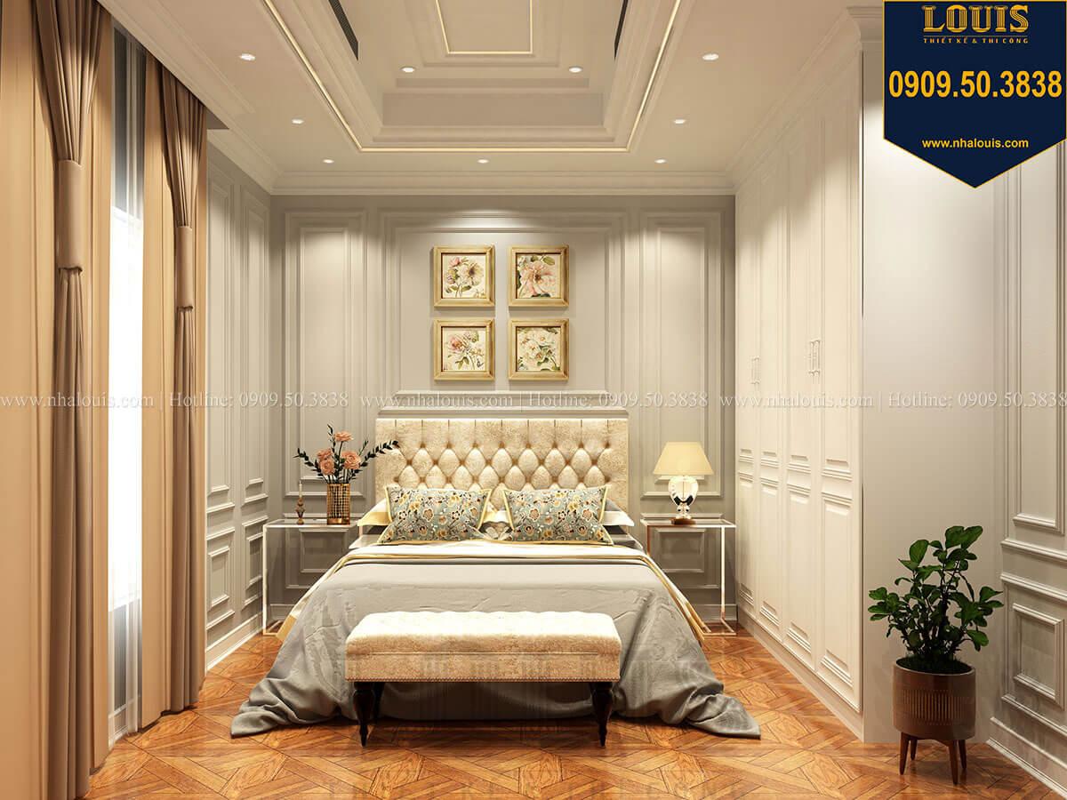 Phòng ngủ Thiết kế mẫu biệt thự tân cổ điển 3 tầng đậm chất Tây tại Vũng Tàu - 25