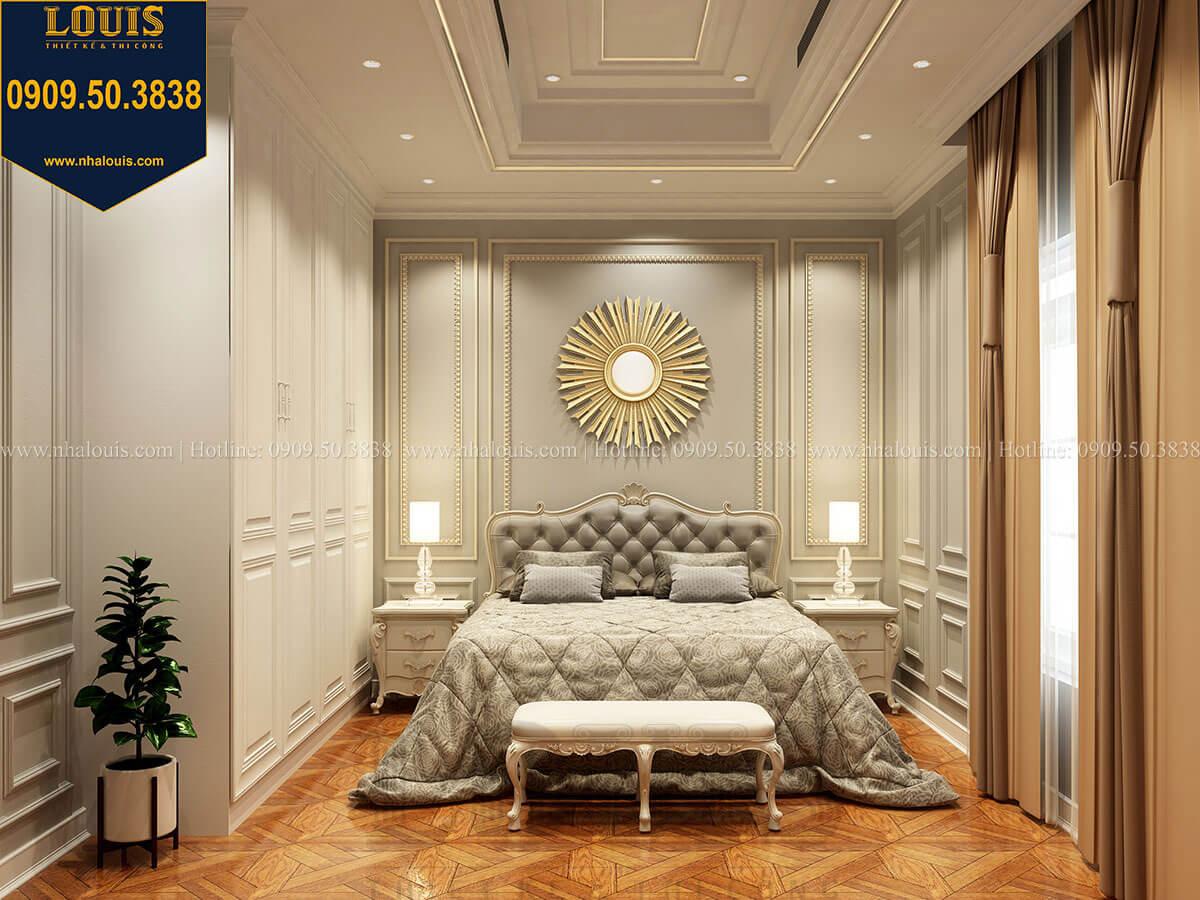 Phòng ngủ Thiết kế mẫu biệt thự tân cổ điển 3 tầng đậm chất Tây tại Vũng Tàu - 27