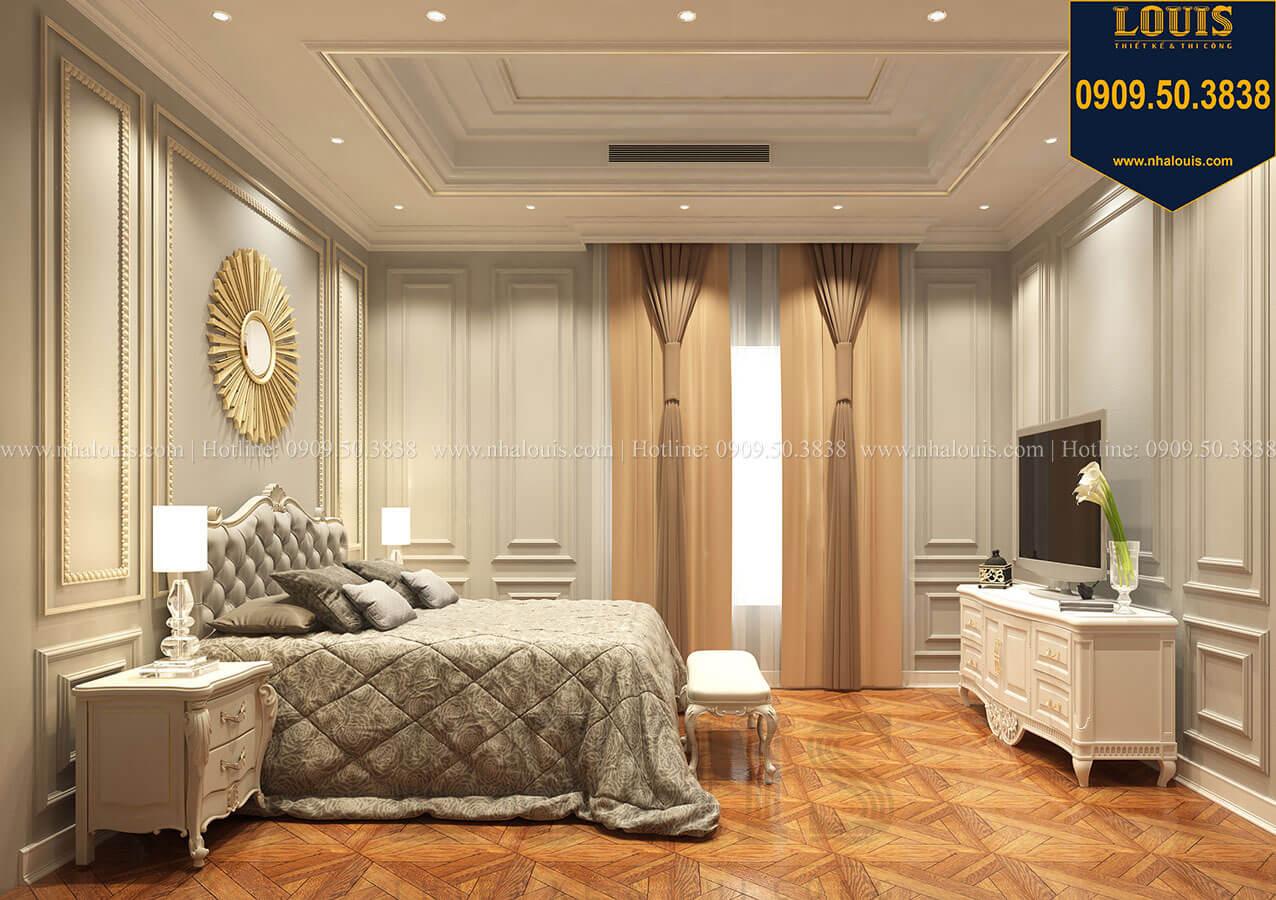 Phòng ngủ Thiết kế mẫu biệt thự tân cổ điển 3 tầng đậm chất Tây tại Vũng Tàu - 28
