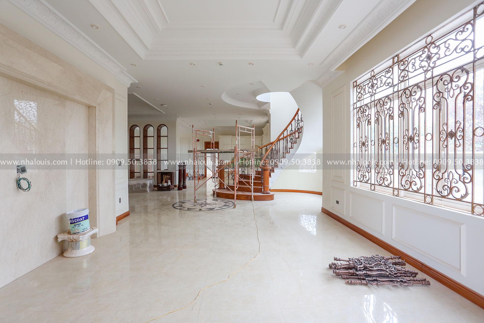 Thiết kế mẫu biệt thự tân cổ điển 3 tầng đậm chất Tây tại Vũng Tàu