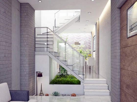 Nguyên tắc bố trí cầu thang cho thiết kế nhà ống tiền 6m bạn không nên bỏ lỡ