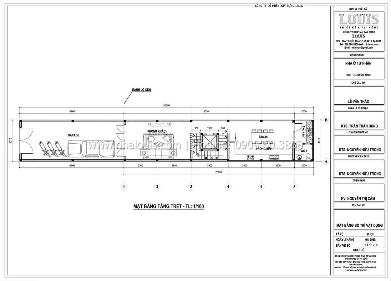 Thiết kế nhà tân cổ điển 6 tầng phong cách thời thượng tại Bình Chánh - 03