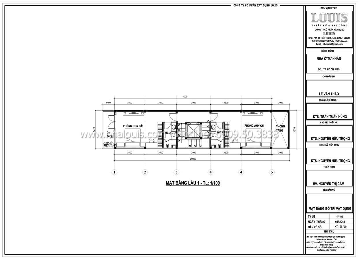 Thiết kế nhà tân cổ điển 6 tầng phong cách thời thượng tại Bình Chánh - 04