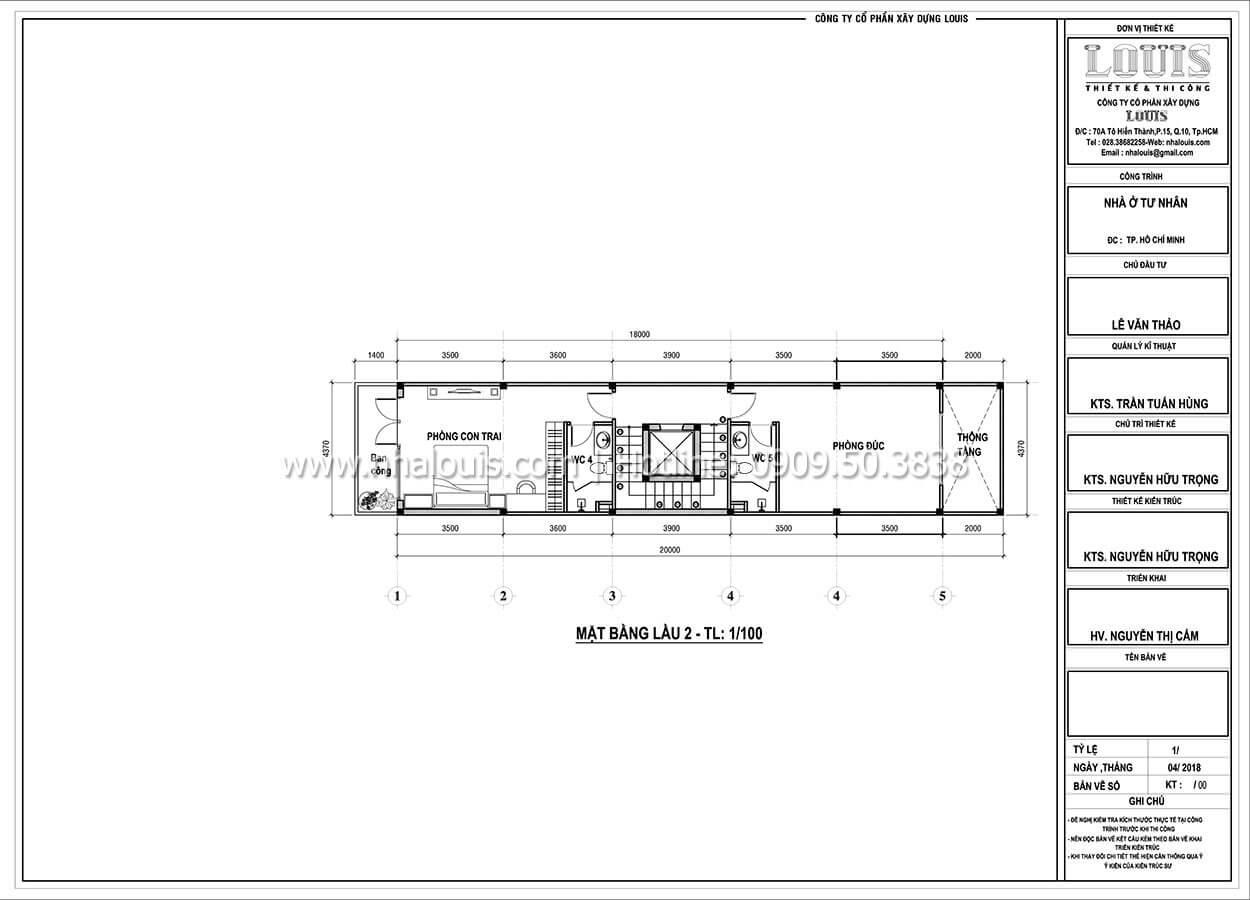 Thiết kế nhà tân cổ điển 6 tầng phong cách thời thượng tại Bình Chánh - 05