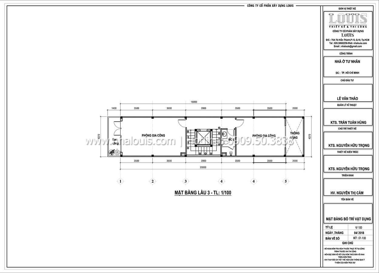 Thiết kế nhà tân cổ điển 6 tầng phong cách thời thượng tại Bình Chánh - 06