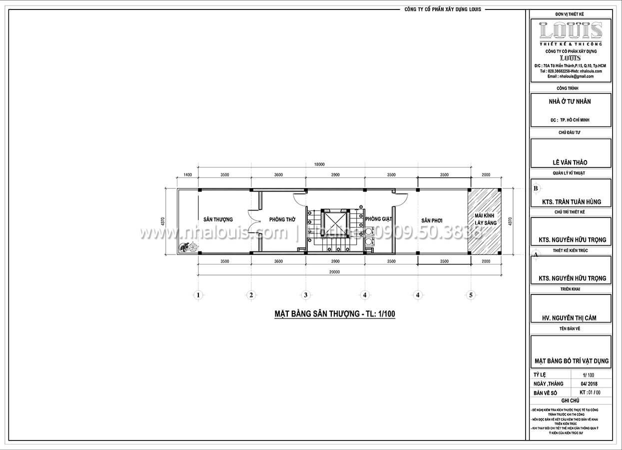 Thiết kế nhà tân cổ điển 6 tầng phong cách thời thượng tại Bình Chánh - 08