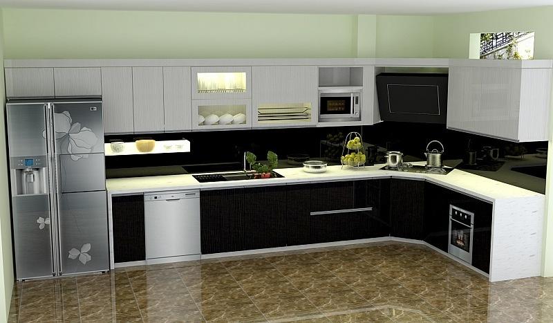 Cách lựa chọn tủ bếp cho mẫu thiết kế nhà đẹp 4x17