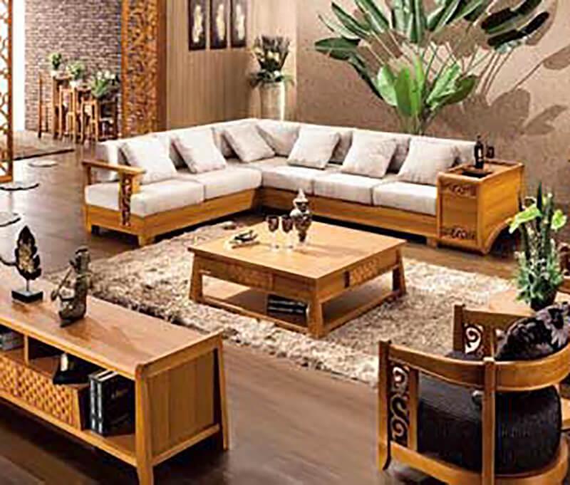 Cách phối nội thất với sàn gỗ màu tối cho biệt thự 3 tầng 2 mặt tiền đẹp