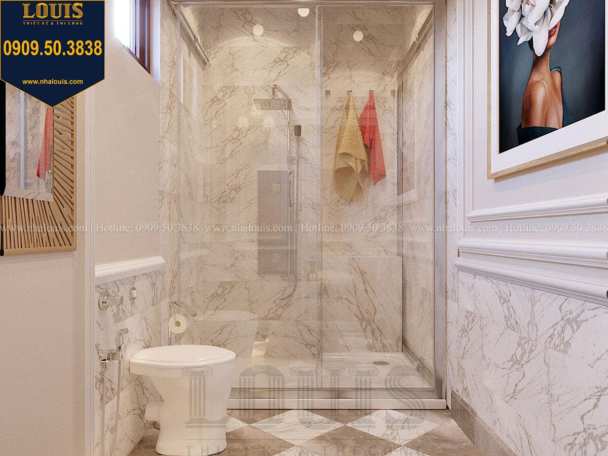 Phòng tắm và WC Mẫu biệt thự hiện đại 3 tầng có tầng hầm độc đáo tại Nhà Bè - 35
