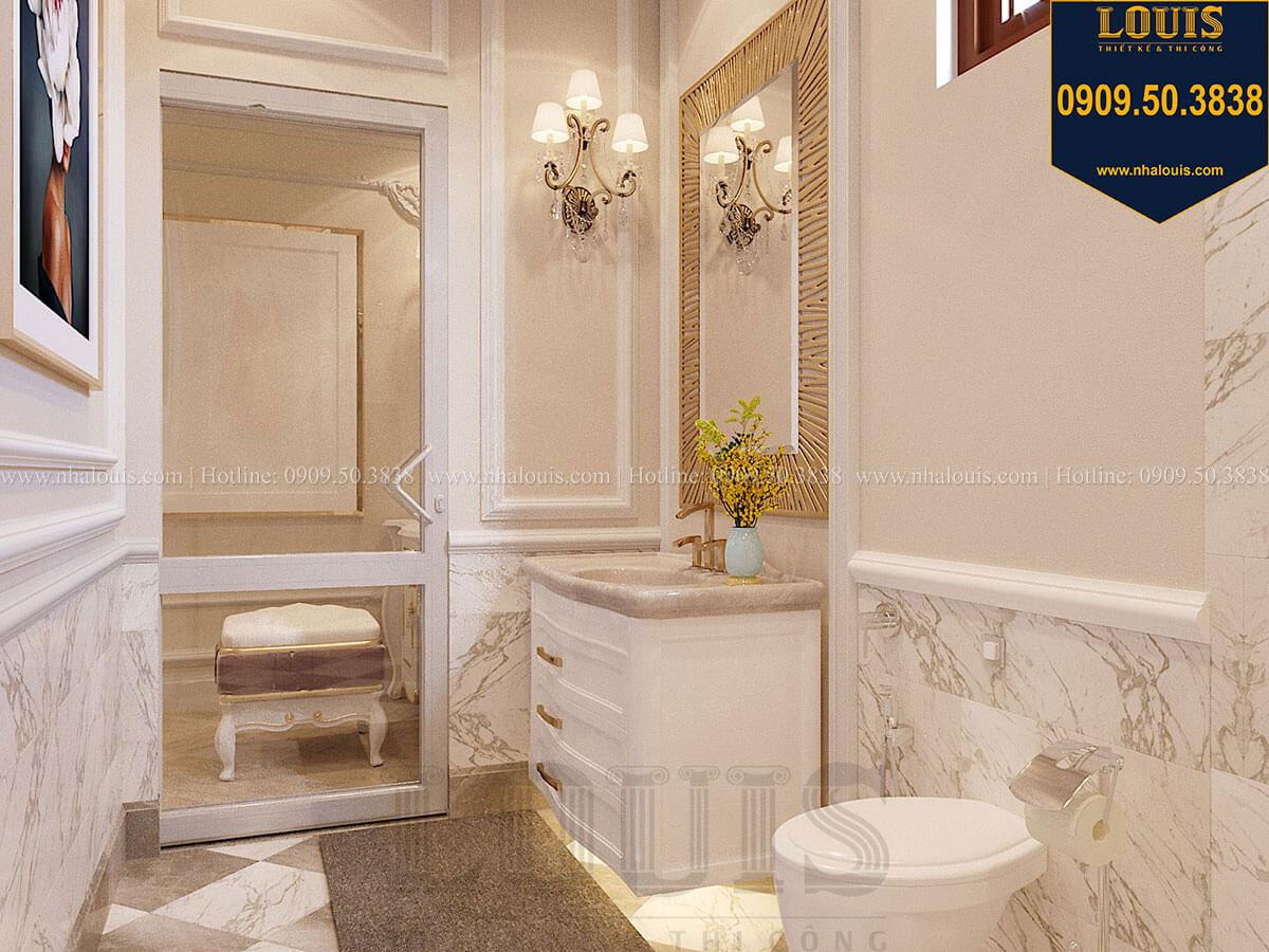 Phòng tắm và WC Mẫu biệt thự hiện đại 3 tầng có tầng hầm độc đáo tại Nhà Bè - 36