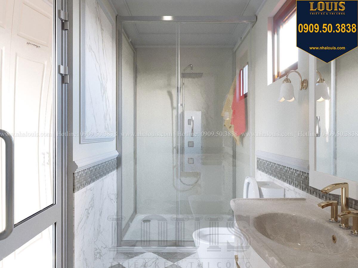 Phòng tắm và WC Mẫu biệt thự hiện đại 3 tầng có tầng hầm độc đáo tại Nhà Bè - 41