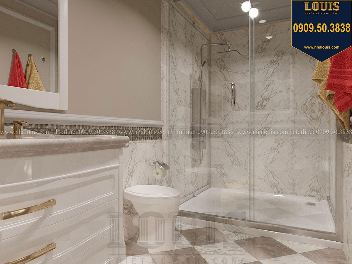 Phòng tắm và WC Mẫu biệt thự hiện đại 3 tầng có tầng hầm độc đáo tại Nhà Bè - 49