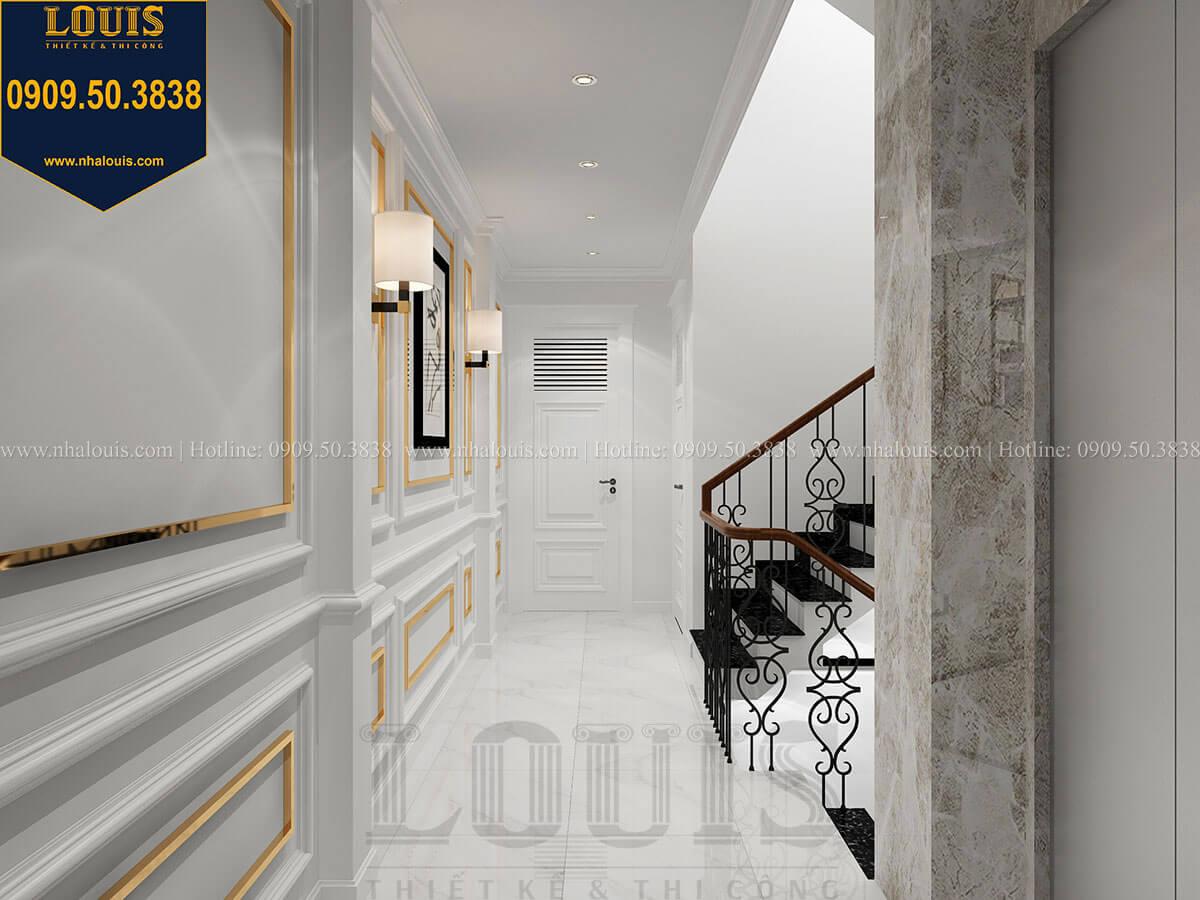Hành lang Thiết kế nhà phố tân cổ điển 5 tầng mặt tiền 3,5m tại Quận 6 - 19