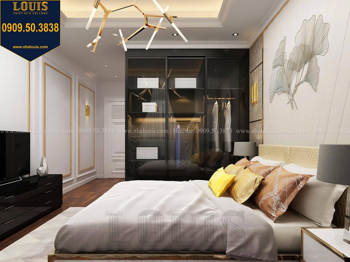 Phòng ngủ Thiết kế nhà phố tân cổ điển 5 tầng mặt tiền 3,5m tại Quận 6 - 28
