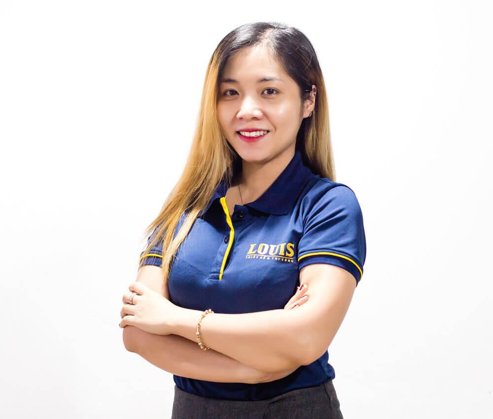 Chuyên Viên Thiết Kế Nội Thất công ty LOUIS- Nguyễn Thị Minh Thư