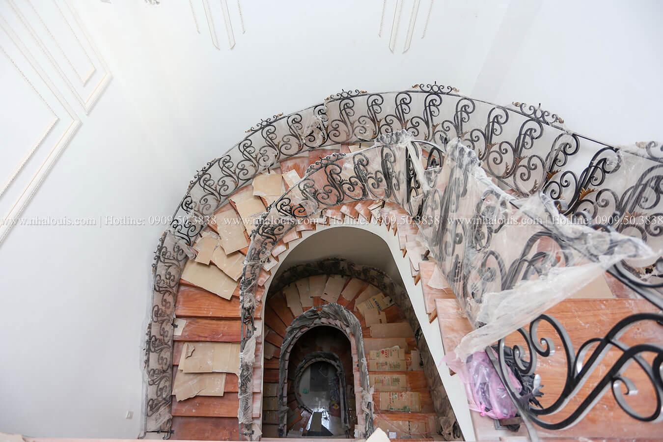 Thi công biệt thự phong cách cổ điển Châu Âu đẳng cấp tại Bến Tre