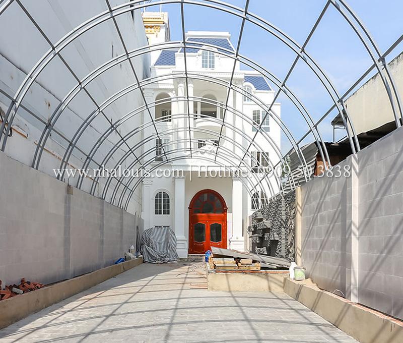 Thi công cải tạo biệt thự sân vườn đẹp tại Tân Bình