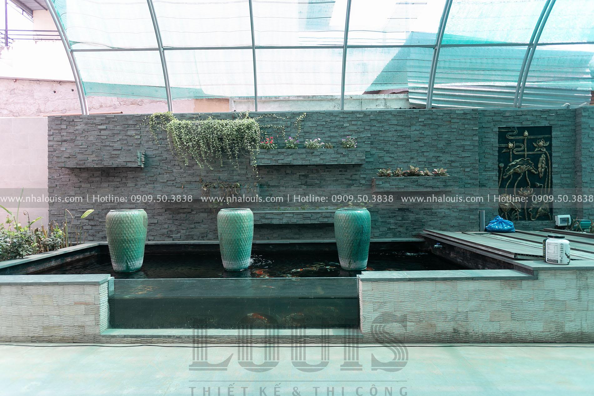 Thi công cải tạo biệt thự vườn tại Tân Bình