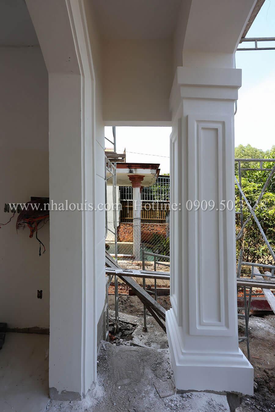 Thi công mẫu thiết kế biệt thự 3 tầng đẹp có sân vườn tại Đồng NaiThi công mẫu thiết kế biệt thự 3 tầng đẹp có sân vườn tại Đồng Nai