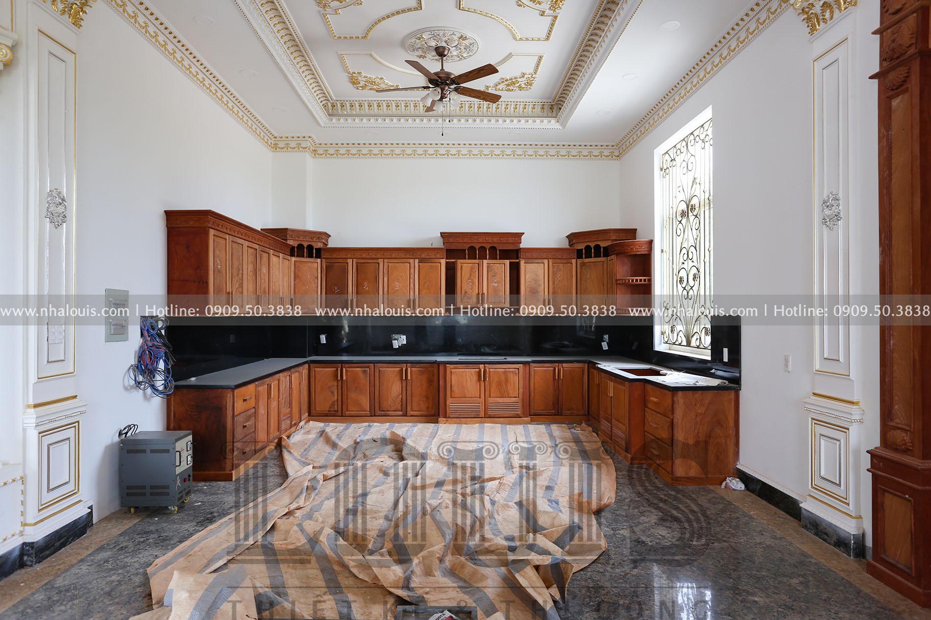 Hình ảnh lắp đặt tủ bếp gỗ