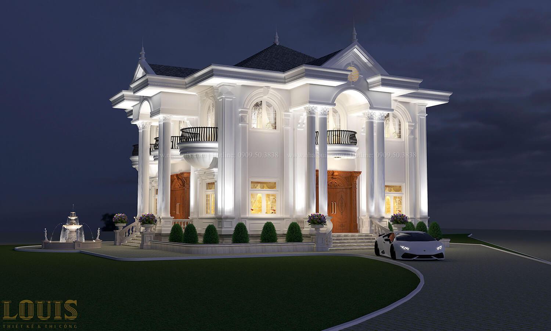 Thiết kế biệt thự cổ điển 2 tầng nguy nga và đẳng cấp tại Tây Ninh