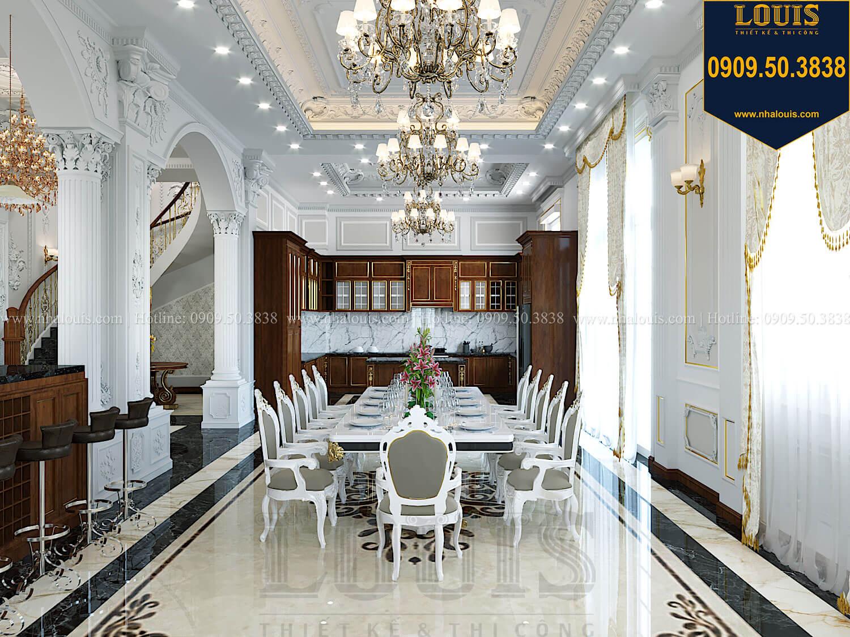 Bếp và phòng ăn Thiết kế biệt thự cổ điển 2 tầng nguy nga và đẳng cấp tại Tây Ninh - 21