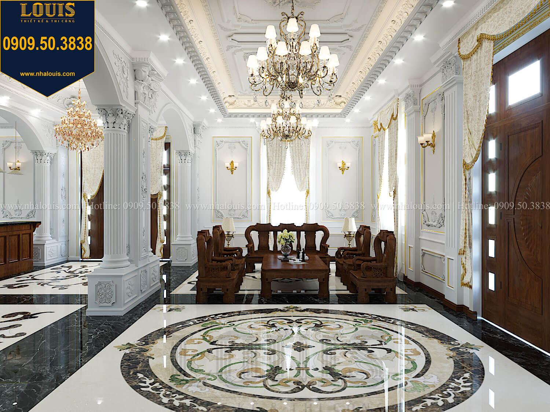 Phòng khách Thiết kế biệt thự cổ điển 2 tầng nguy nga và đẳng cấp tại Tây Ninh - 23