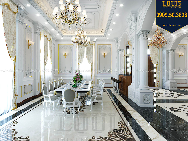 Bếp và phòng ăn Thiết kế biệt thự cổ điển 2 tầng nguy nga và đẳng cấp tại Tây Ninh - 24