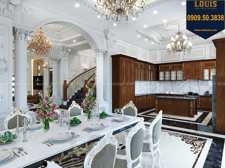 Bếp và phòng ăn Thiết kế biệt thự cổ điển 2 tầng nguy nga và đẳng cấp tại Tây Ninh - 25