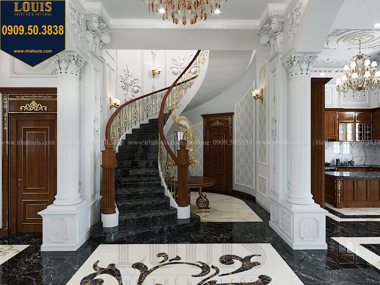 Cầu thang Thiết kế biệt thự cổ điển 2 tầng nguy nga và đẳng cấp tại Tây Ninh - 26