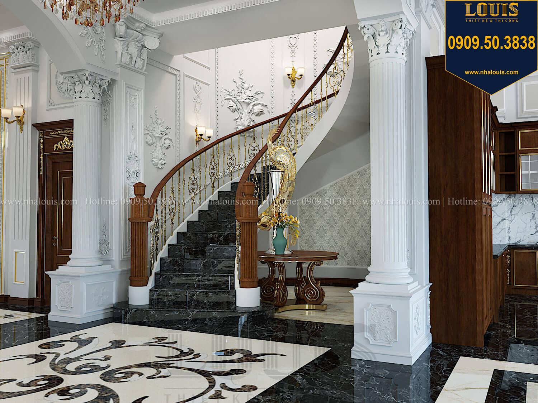 Cầu thang Thiết kế biệt thự cổ điển 2 tầng nguy nga và đẳng cấp tại Tây Ninh - 28