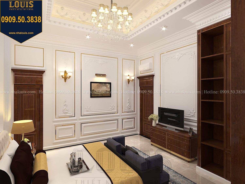 Phòng ngủ Thiết kế biệt thự cổ điển 2 tầng nguy nga và đẳng cấp tại Tây Ninh - 29