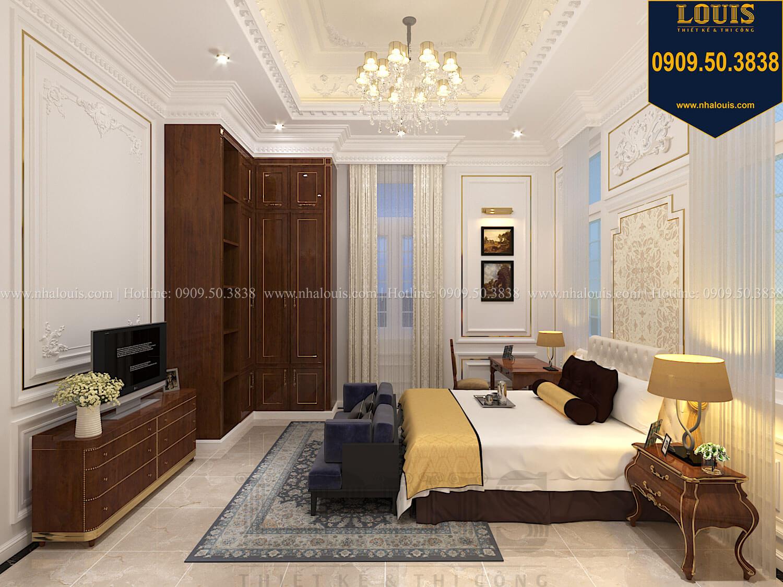 Phòng ngủ Thiết kế biệt thự cổ điển 2 tầng nguy nga và đẳng cấp tại Tây Ninh - 30