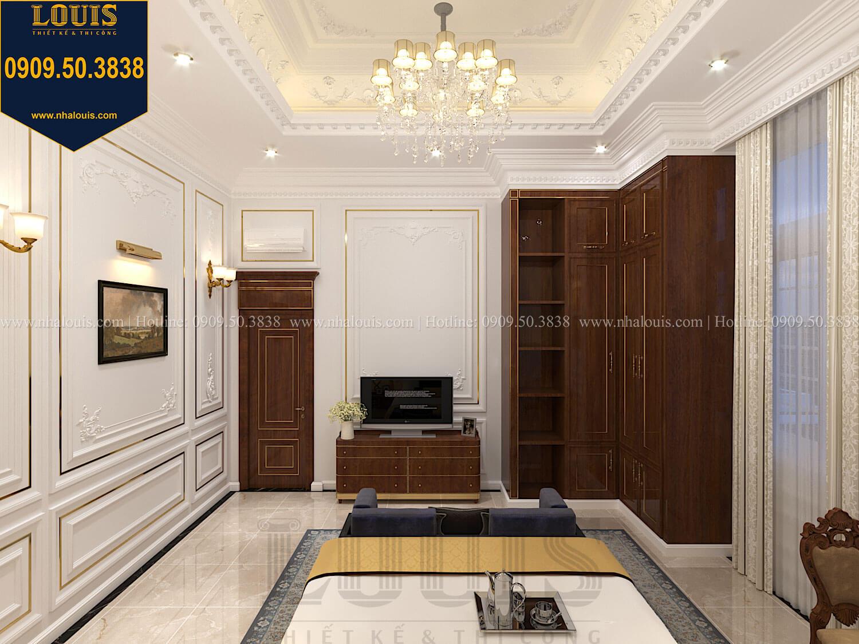 Phòng ngủ Thiết kế biệt thự cổ điển 2 tầng nguy nga và đẳng cấp tại Tây Ninh - 31