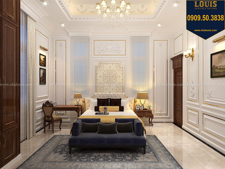 Phòng ngủ Thiết kế biệt thự cổ điển 2 tầng nguy nga và đẳng cấp tại Tây Ninh - 32
