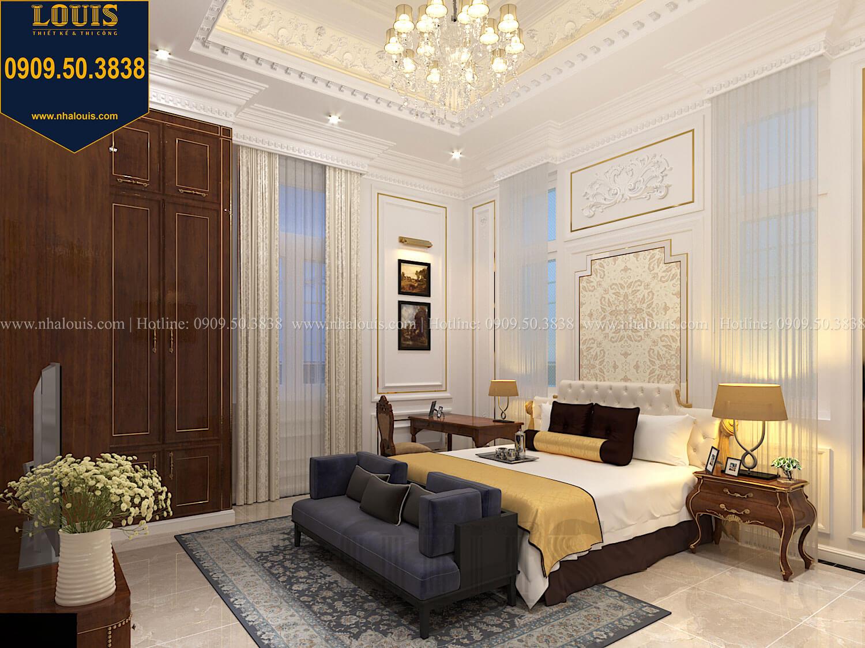 Phòng ngủ Thiết kế biệt thự cổ điển 2 tầng nguy nga và đẳng cấp tại Tây Ninh - 33