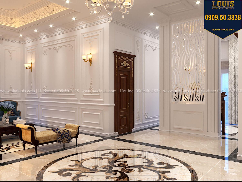 Phòng sinh hoạt chung Thiết kế biệt thự cổ điển 2 tầng nguy nga và đẳng cấp tại Tây Ninh - 36