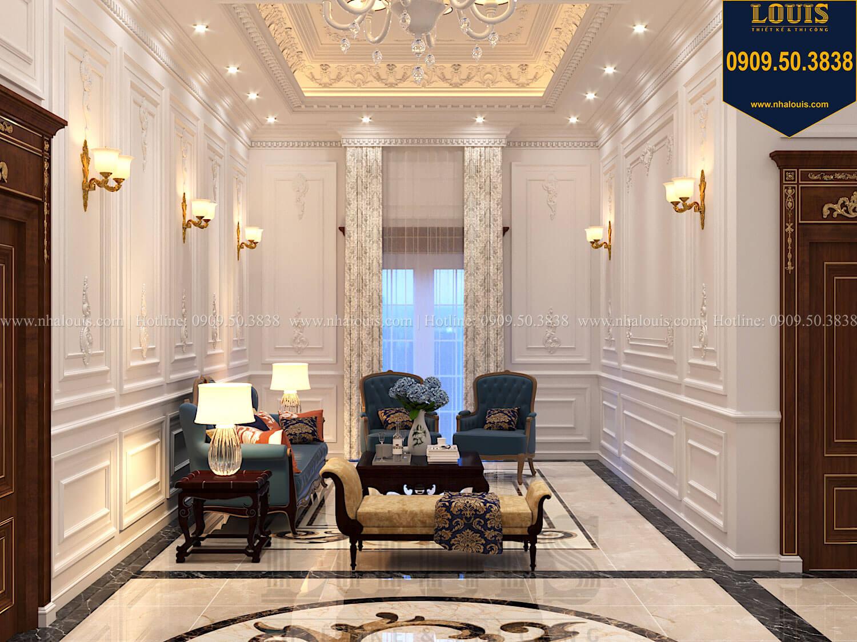 Phòng sinh hoạt chung Thiết kế biệt thự cổ điển 2 tầng nguy nga và đẳng cấp tại Tây Ninh - 37