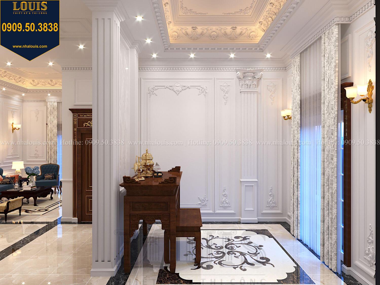 Phòng sinh hoạt chung Thiết kế biệt thự cổ điển 2 tầng nguy nga và đẳng cấp tại Tây Ninh - 38