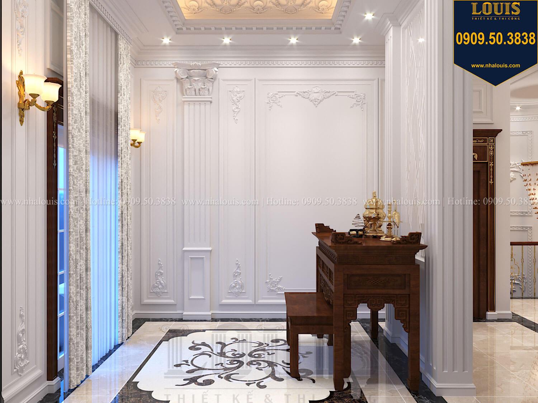 Phòng sinh hoạt chung Thiết kế biệt thự cổ điển 2 tầng nguy nga và đẳng cấp tại Tây Ninh - 39