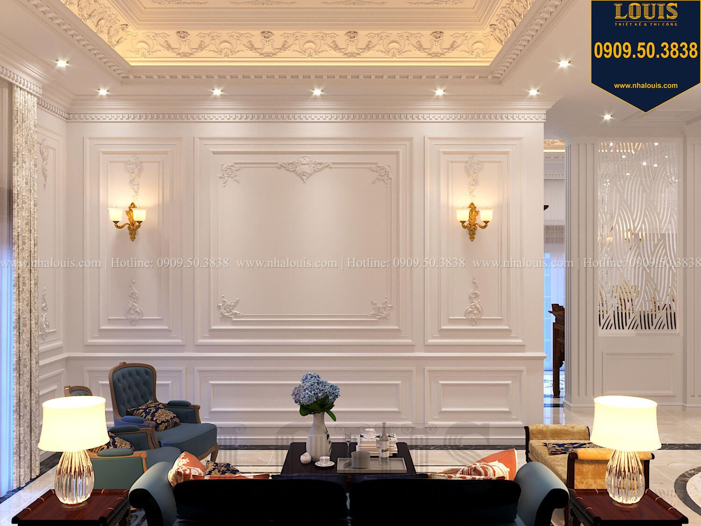 Phòng sinh hoạt chung Thiết kế biệt thự cổ điển 2 tầng nguy nga và đẳng cấp tại Tây Ninh - 41
