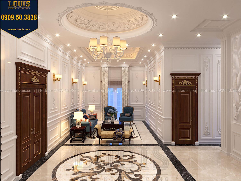 Phòng sinh hoạt chung Thiết kế biệt thự cổ điển 2 tầng nguy nga và đẳng cấp tại Tây Ninh - 43