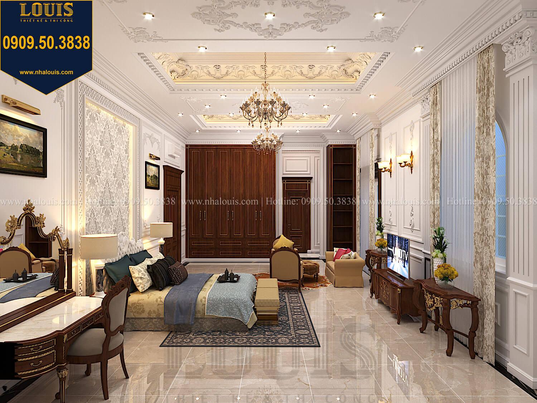 Phòng ngủ master Thiết kế biệt thự cổ điển 2 tầng nguy nga và đẳng cấp tại Tây Ninh - 45