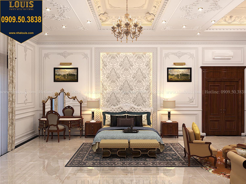 Phòng ngủ masterThiết kế biệt thự cổ điển 2 tầng nguy nga và đẳng cấp tại Tây Ninh - 46
