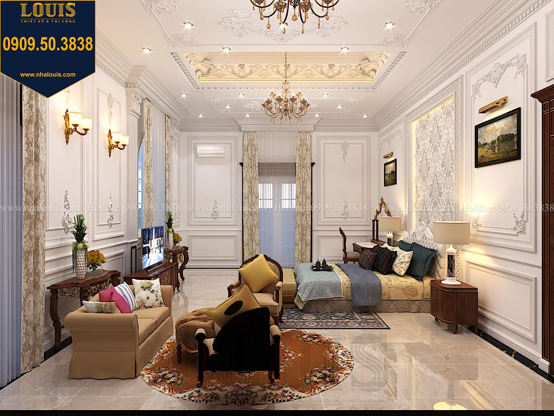 Phòng ngủ masterThiết kế biệt thự cổ điển 2 tầng nguy nga và đẳng cấp tại Tây Ninh - 47