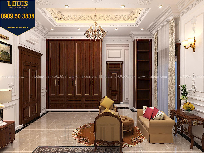 Phòng ngủ masterThiết kế biệt thự cổ điển 2 tầng nguy nga và đẳng cấp tại Tây Ninh - 50